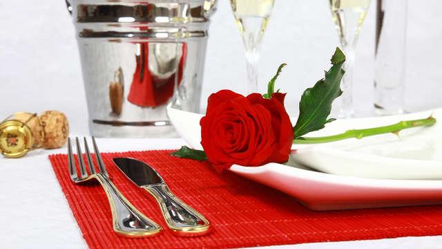 Dîner et champagne à Fréjus pour une Saint Valentin idyllique !