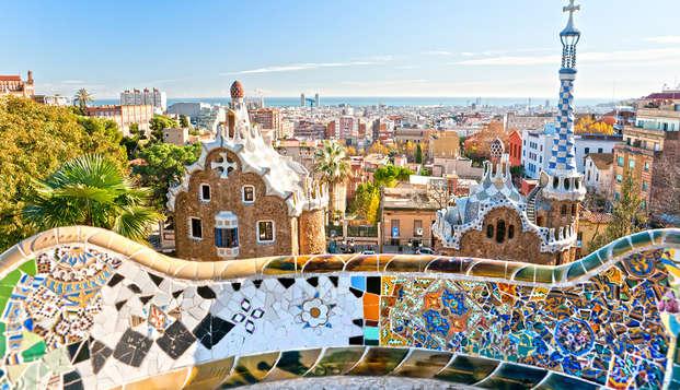 Siguiendo los pasos de Gaudí en un hotel en el corazón de Barcelona
