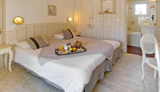 Hotel Restaurant et SPA Plaisir - room