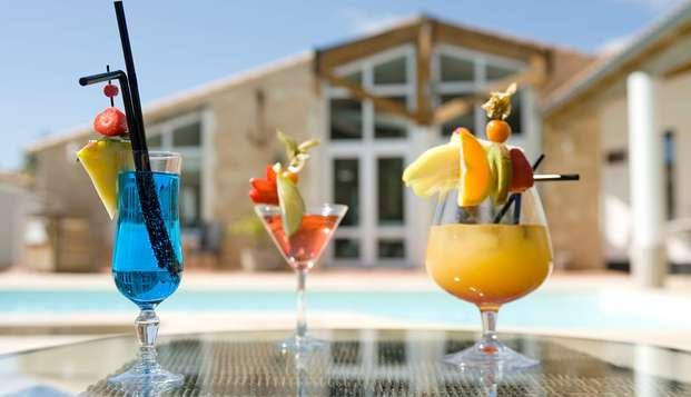Hotel Restaurant et SPA Plaisir - drink