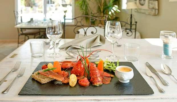 Hotel Restaurant et SPA Plaisir - dinner