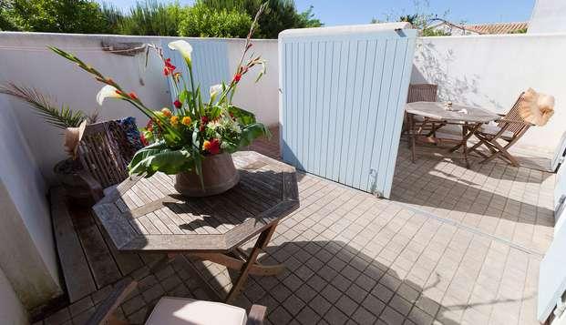 Hotel Restaurant et SPA Plaisir - privaterrace