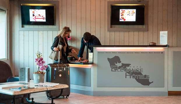 Hotel Restaurant et SPA Plaisir - reception