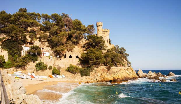 Vacaciones low cost junto al mar con pensión completa en la Costa Brava
