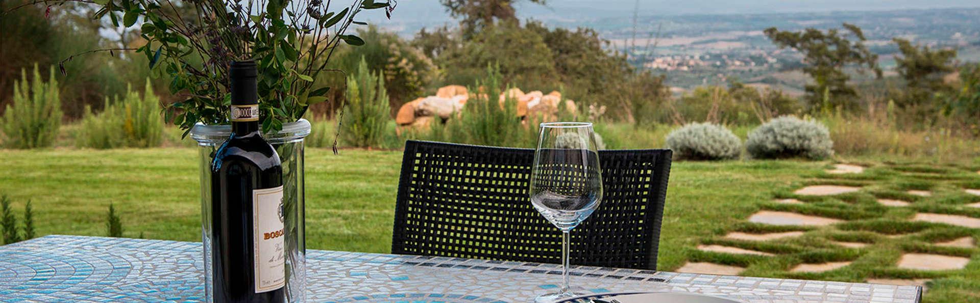 Relax e gastronomia nel cuore della Toscana (da 4 notti)
