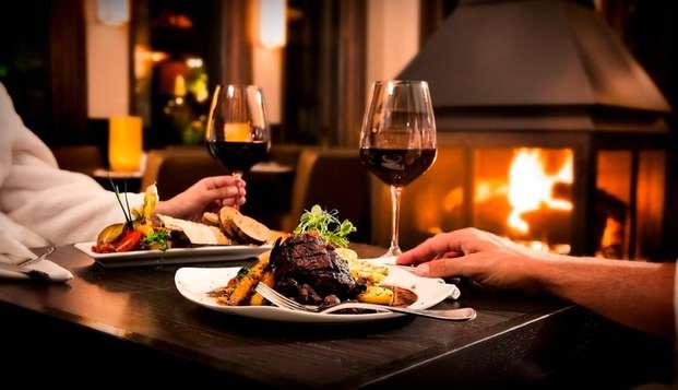 Week-end avec dîner au coeur du massif jurassien, près de Bourg-en-Bresse
