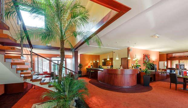 Hotel du Beryl - reception lobby
