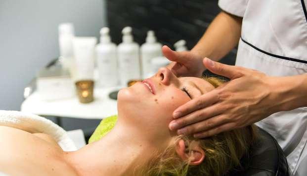 Weekend met massage, in een executive kamer met zicht op het meer  in Spa