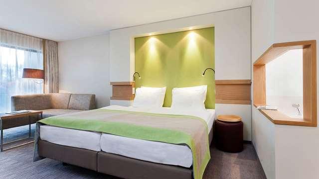 2 overnachtingen in een standaard twin kamer met boszicht voor 2 volwassenen