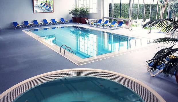 Disfruta de este maravilloso hotel a la desembocadura del rio Duero