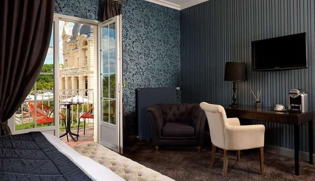 Hotel Chateau Et Spa Grand Barrail - Chambre-Deluxe-bien-etre-
