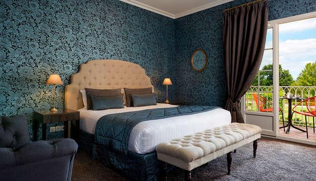 Hotel Chateau Et Spa Grand Barrail - Chambre-Deluxe-bien-etre