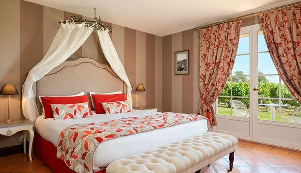 Hotel Chateau Et Spa Grand Barrail - Chambre-Deluxe-maison-du-vignoble