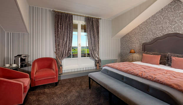 Hotel Chateau Et Spa Grand Barrail - Chambre-Deluxe-maison-du-vignoble-