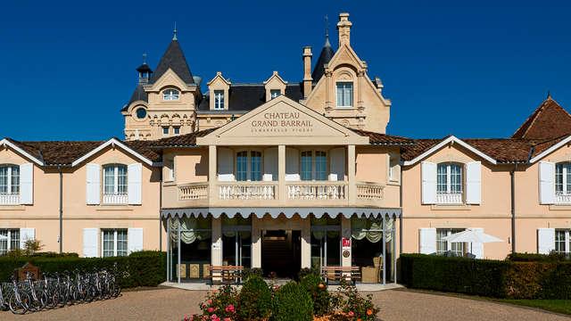 Week-end oenologique dans un château***** à Saint-Emilion