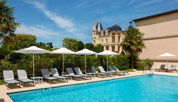 Hotel Chateau Et Spa Grand Barrail - Piscine