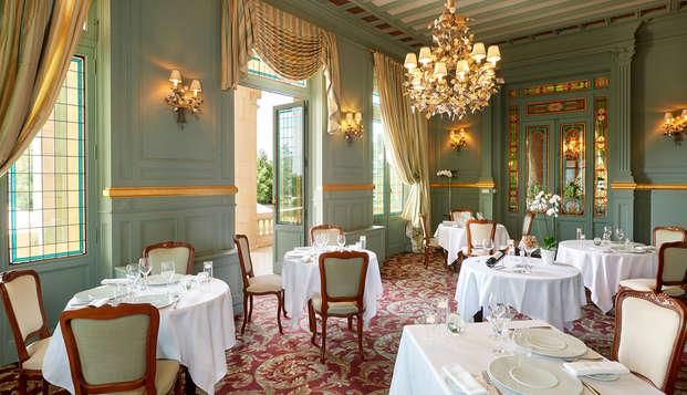 Hotel Chateau Et Spa Grand Barrail - Restaurant