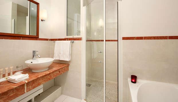 Hotel Chateau Et Spa Grand Barrail - Salle-de-bain