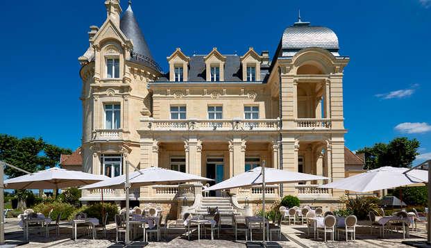 Hotel Chateau Et Spa Grand Barrail - Terrasse-du-restaurant