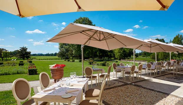 Hotel Chateau Et Spa Grand Barrail - Terrasse-du-restaurant-