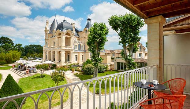 Hotel Chateau Et Spa Grand Barrail - Vue-sur-parc