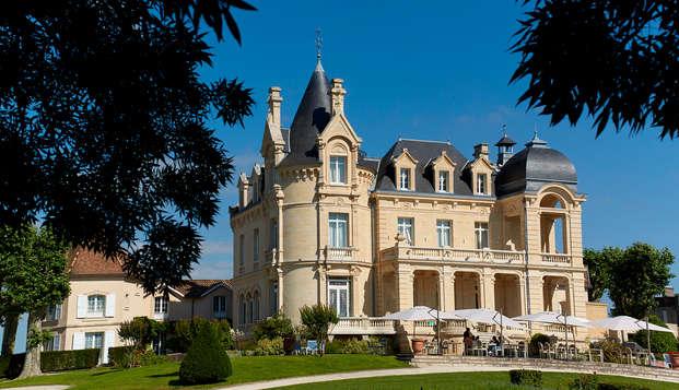 Hotel Chateau Et Spa Grand Barrail - Vue-sur-parc-
