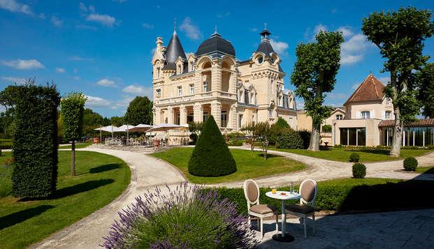 Week-end bien-être avec soins dans un château à Saint-Emilion