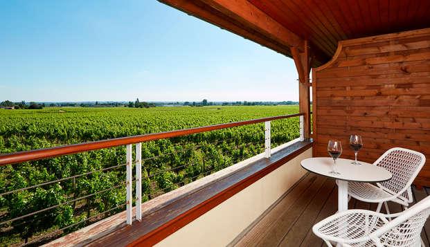 Hotel Chateau Et Spa Grand Barrail - Vue-sur-vignoble-
