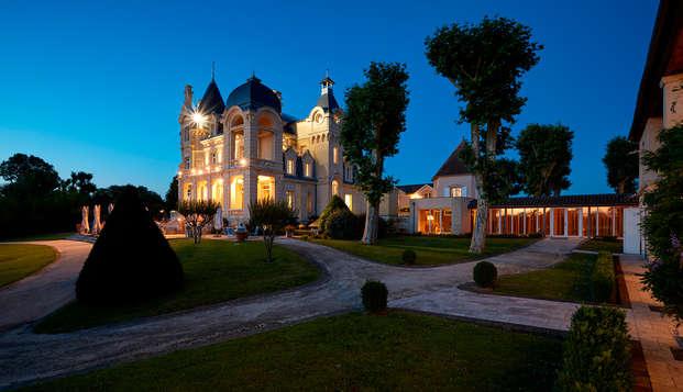 Week-end détente & spa dans un château***** à Saint-Emilion