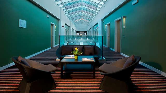 Tussen de kunst en cultuur in een design hotel bij Milaan