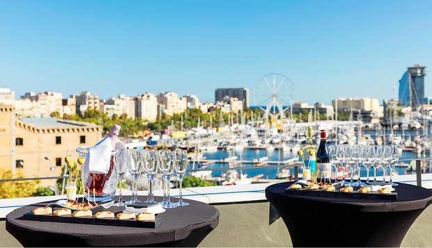 Escapada Top: cóctel en una de las mejores terrazas de Barcelona