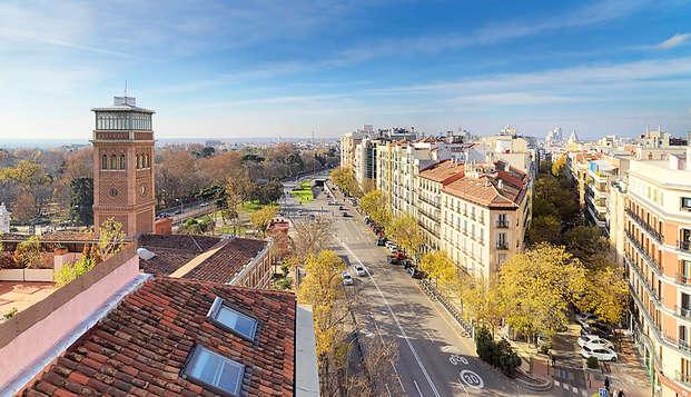 H Puerta de Alcala - view