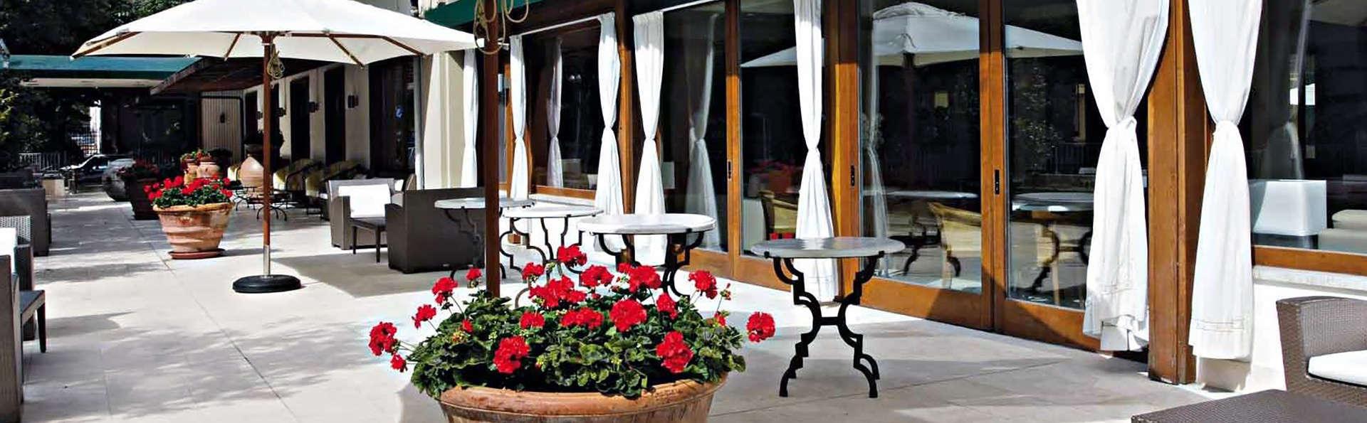 Charme et élégance à Montecatini Terme dans un fantastique hôtel 4 étoiles