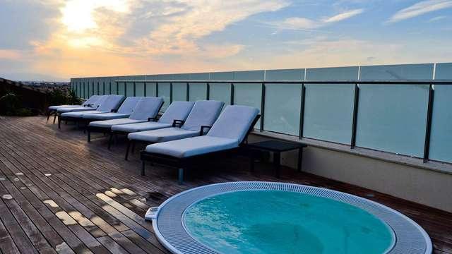 Week-end reposant avec touche romantique en suite junior près de la Mar Menor