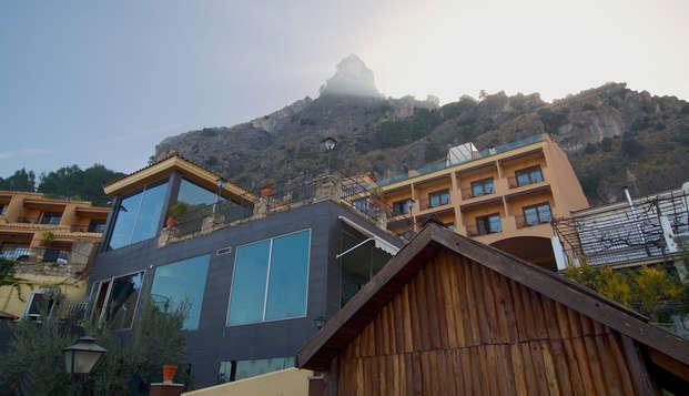 Pensión completa en un complejo de lujo en la Sierra de Cazorla