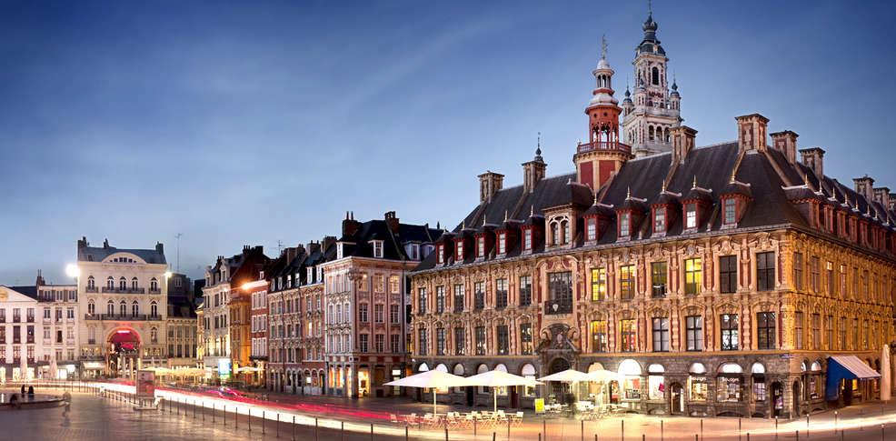 Culinair weekend lille rijsel met 1 diner 2 gangen voor for Lille 2 webmail