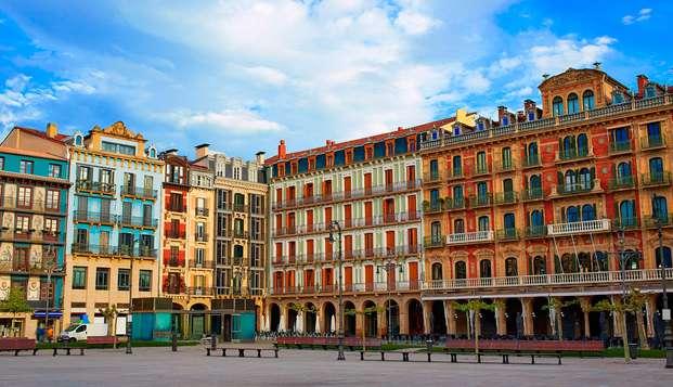 Descansa en un apartamento Suite en Pamplona