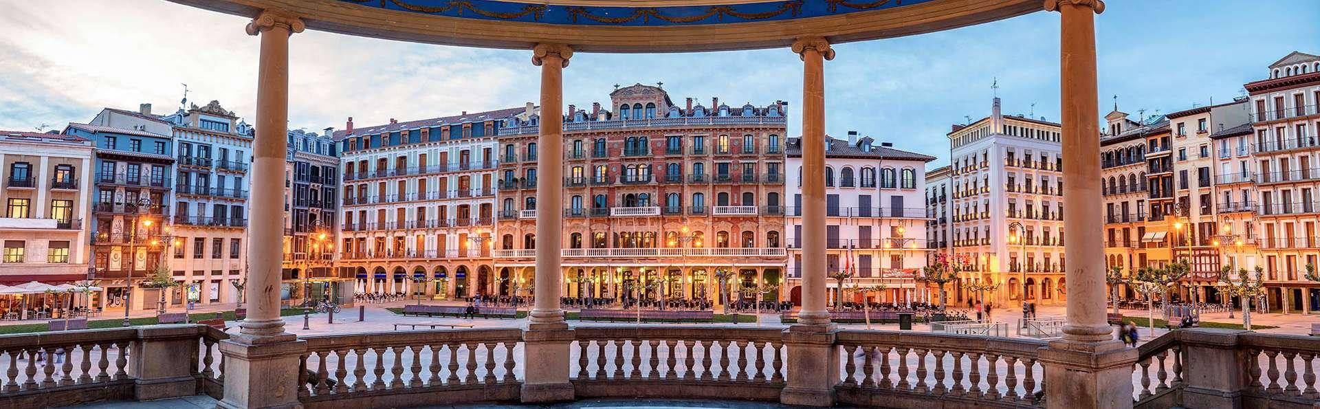 Escapa con parking gratuito en Pamplona