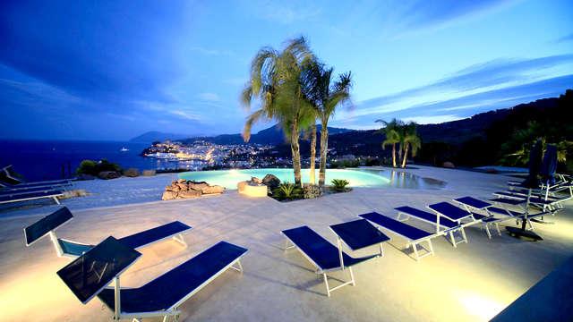 Soggiorno di benessere in un Boutique Hotel 4* delle Isole Eolie