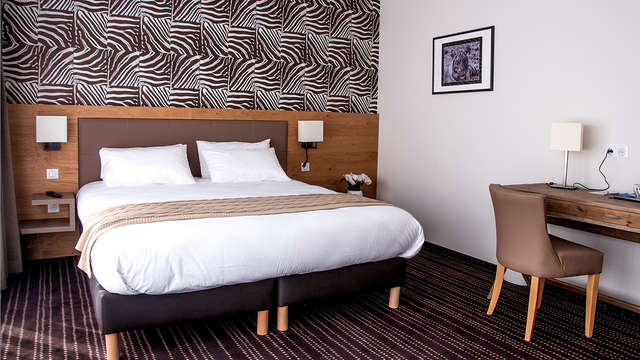 1 nuit en chambre double confort Vue ville pour 2 adultes