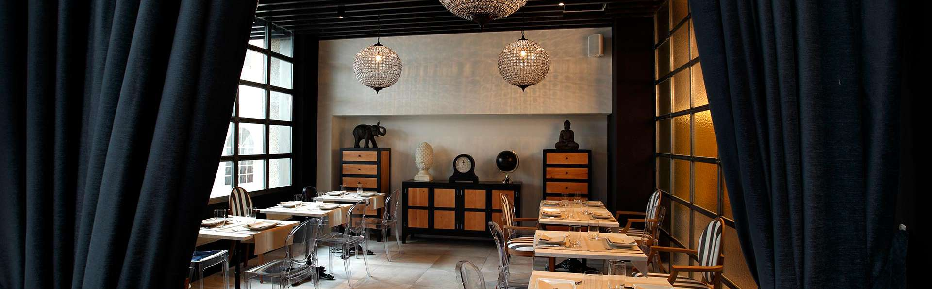 Dîner, dégustation et accès VIP dans un hôtel moderne au centre de Bilbao