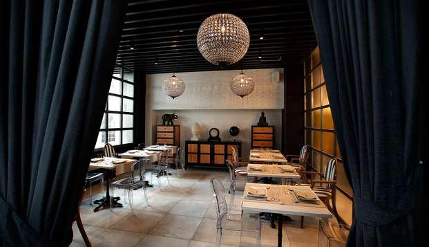 Escapada con Cena degustación y trato VIP en un moderno hotel del centro de Bilbao