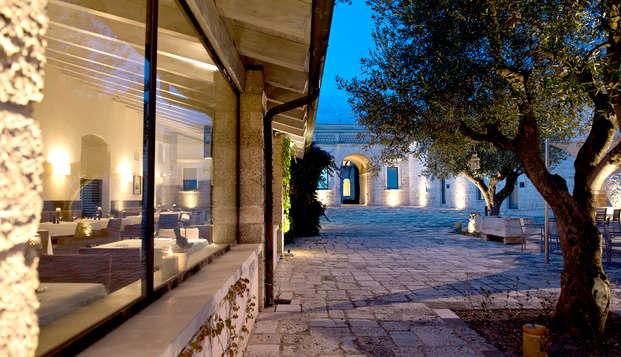 Cena e Spa in un'antica masseria alle porte di Taranto