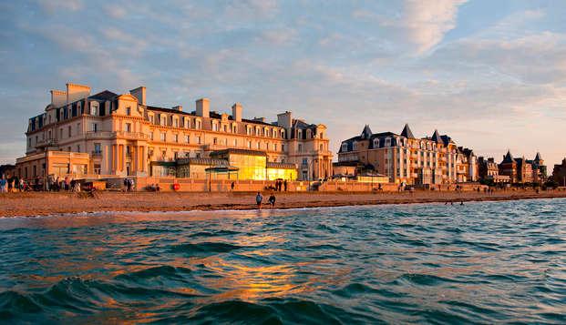 Séjour détente les pieds dans l'eau dans un hôtel 5* à Saint-Malo