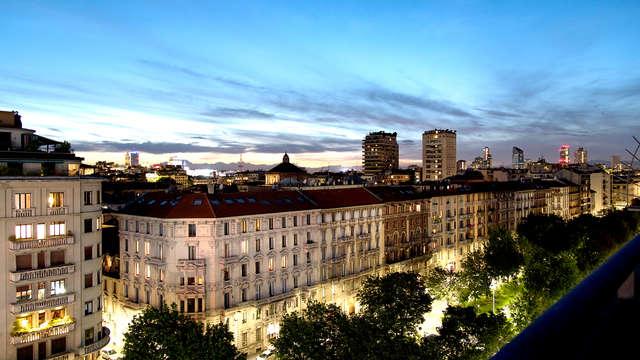 Ontdek de modestad Milaan met een panoramisch uitzicht