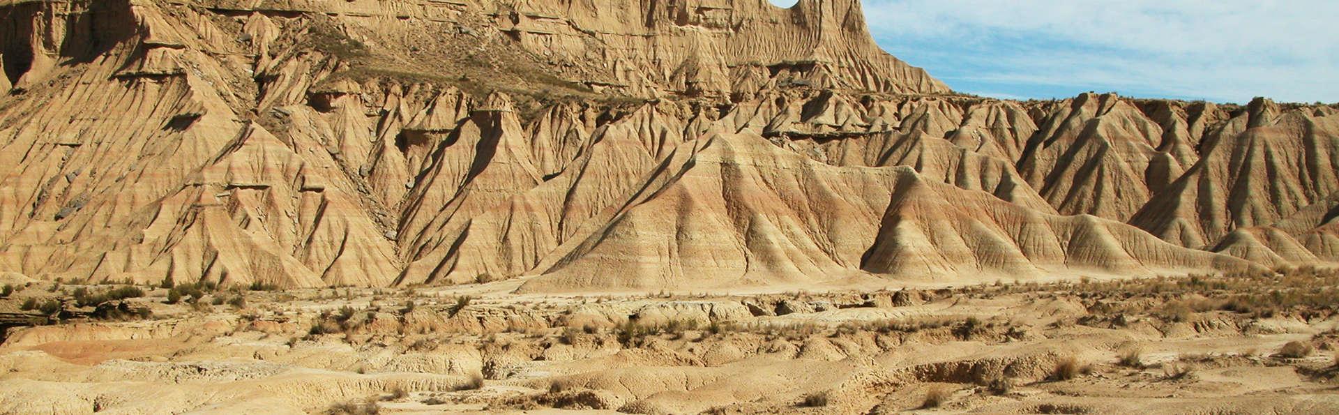 Visitez le désert des Bardenas Reales, pique-nique inclus