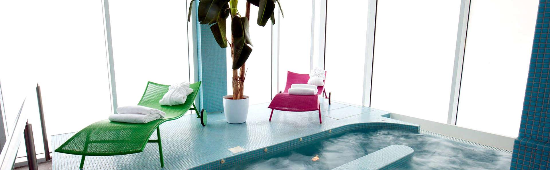Détente en chambre avec bain hydromassant près de Milan