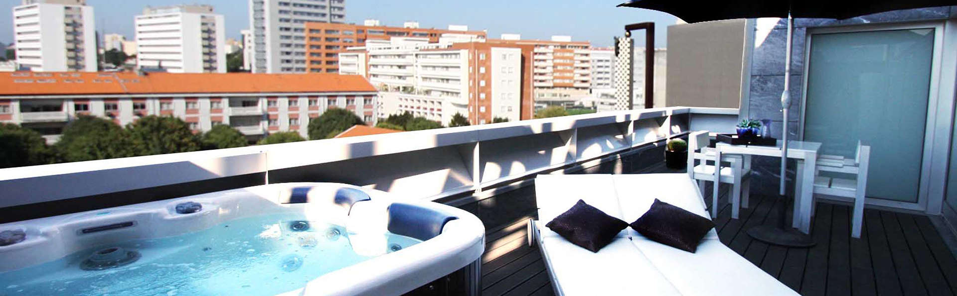 Escapada con acceso a la zona Relax en Boavista, el corazón de Oporto