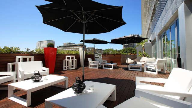 Romantisch uitje met diner en toegang tot de ontspanningsruimte in het centrum van Porto