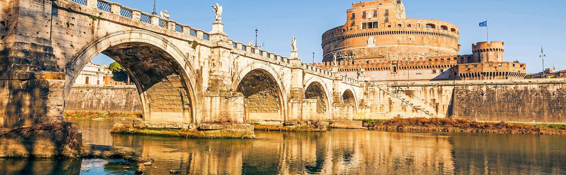Las 7 maravillas de Roma en habitación superior